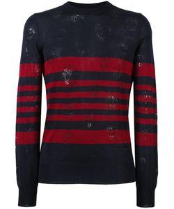 Alexander McQueen | Distressed Jumper Small Wool