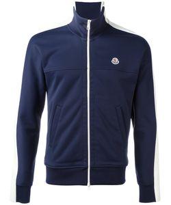Moncler   Colour Block Zipped Sweatshirt Size Large