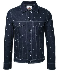 Education From Youngmachines | Stars Print Denim Jacket Size 1