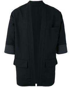 Lardini | Striped Trim Cardigan Size 50