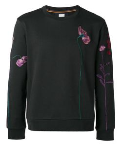 Paul Smith | Embroidery Sweatshirt Small Cotton