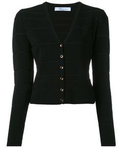 Blumarine   V-Neck Cropped Cardigan Size 46