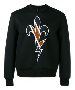 Neil Barrett | Embroidered Sweatshirt Size Large