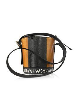 Vivienne Westwood | Buckingham Leather Signature Bucket Bag