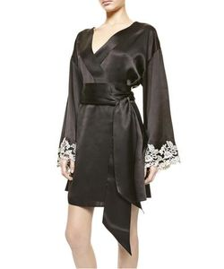La Perla | Maison Silk Satin Short Robe