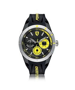 Ferrari   Rev T Tone Stainless Steel Case And Silicone