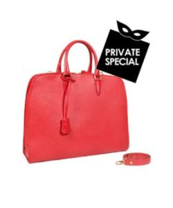 Fontanelli   Leather Ladies Briefcase