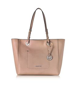 Michael Kors   Walsh Large Fawn Saffiano Leather Ew Top-Zip Tote