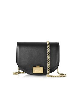 Victoria Beckham   Leather Box With Chain Shoulder Bag