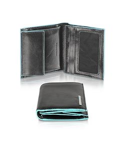 Piquadro | Square- Leather Id Wallet
