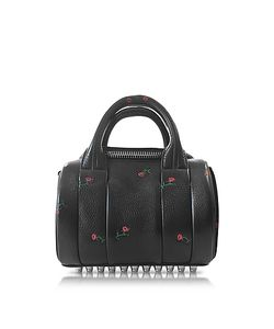 Alexander Wang | Mini Rockie Rose Embossed Leather Satchel