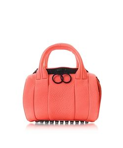 Alexander Wang | Fluo Mini Rockie Leather Satchel