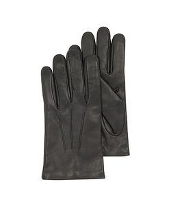 Forzieri | Leather Handmade Gloves W/Wool Lining