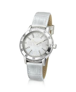 Just Cavalli | Crystal Lady Mother Of Pearl Dial Dress Watch