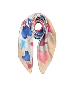 Vivienne Westwood | Ysl Printed Stars And Hearts Silk Square Scarf