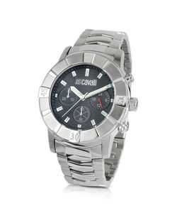 Just Cavalli | Crystal Gent Stainless Steel Bracelet Chronograph Watch