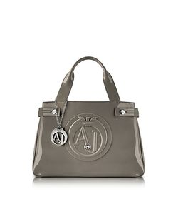 Armani Jeans | Medium Faux Patent Leather Tote