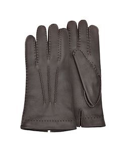 Forzieri | Cashmere Lined Italian Deer Leather Gloves