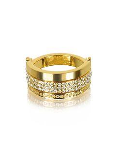 Vita Fede | Bardot Tone Ring W/Crystals