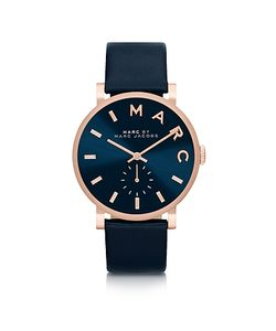 Marc by Marc Jacobs | Baker Strap 36mm Navy Watch