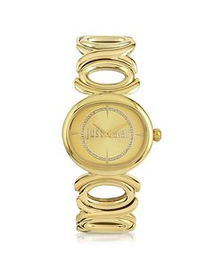 Just Cavalli | Double Jc 2h Champagne Dial Watch