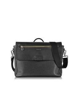 Paul Smith | Grainy Leather Messenger Bag