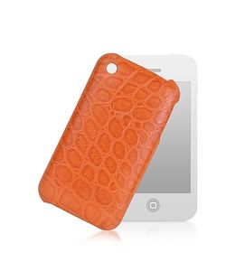 Giorgio Fedon | Croco-Stamped Leather Iphone 3 Case