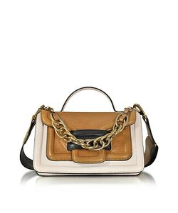 Pierre Hardy   Alpha Plus Colorblock Leather Satchel Bag