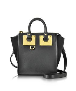 Sophie Hulme | Leather And Suede Small Holmes North South Zip Tote