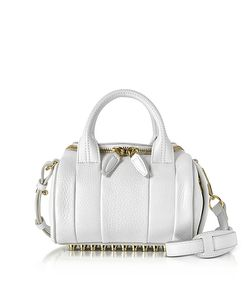 Alexander Wang | Mini Rockie Peroxide Soft Pebbled Leather Satchel Bag