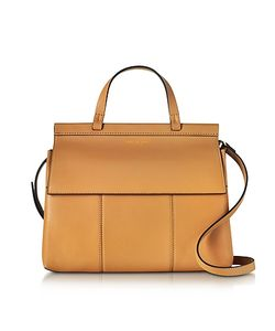 Tory Burch   T Leather Top Handle Satchel
