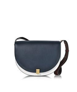 Victoria Beckham   And Ebony Half Moon Box Shoulder Bag