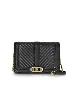 Rebecca Minkoff   Quilted Leather Small Love Crossbody Bag