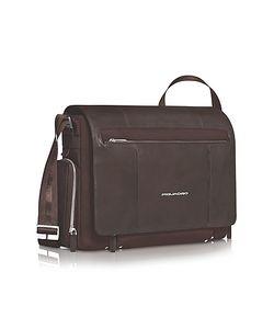 Piquadro | Link 15 Laptop Messenger Bag