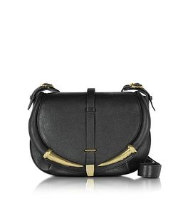 Roberto Cavalli | Kripton Leather Shoulder Bag
