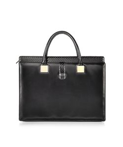 Linda Farrow | Anniversary Ayers And Leather Tote