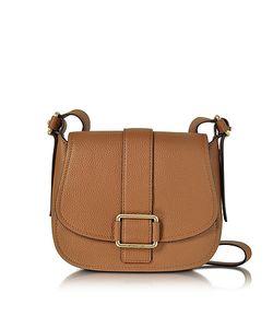 Michael Kors | Maxine Large Luggage Leather Saddle Bag