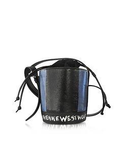 Vivienne Westwood | Buckingham Mini Leather Signature Bucket Bag
