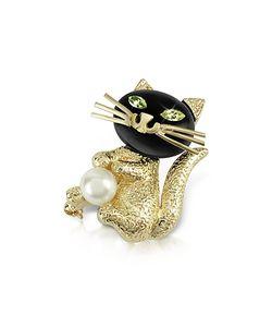 AZ Collection   -Eyed Cat Pin