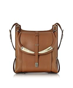 Roberto Cavalli | Horn Leather Shoulder Bag