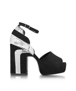 Pierre Hardy   Roxy Suede And Ayers Platform Sandal