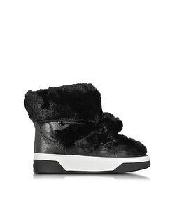 Michael Kors | Nala Fur And Calf Hair High-Top Sneaker/Boot