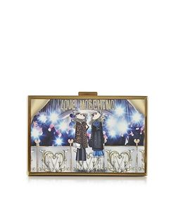 Love Moschino | Printed Box Clutch