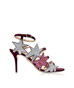 Charlotte Olympia | Twinkle Toes Glitter Sandal