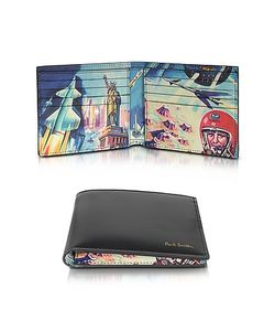 Paul Smith | Leather Crayon Box Print Billfold Wallet