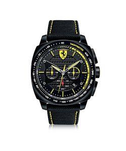 Ferrari   Aero Evo Chronograph And Stainless Steel Case And Nylon