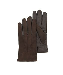 Forzieri | Touch Screen Leather Gloves