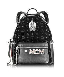 MCM   Stark Velvet Insignia Medium Backpack
