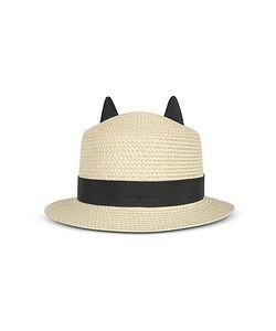 Karl Lagerfeld | Natural Small Brim Hat