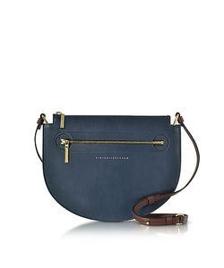 Victoria Beckham   Color Block Leather New Moonlight Bag